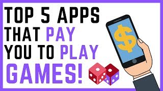 Top 5 Apps That Pay You To Play Games | 2020