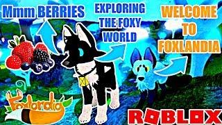 BECOME A FOX!! IN ROBLOX FOXLANDIA!!