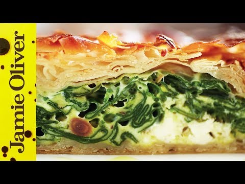 Feta and Spinach Filo Pie | Jamie Oliver