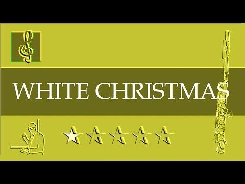Flute Notes Tutorial - Christmas song - White Christmas (Sheet Music)