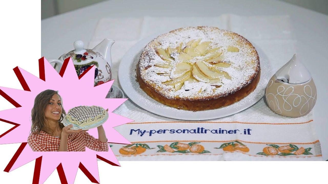 Dolci Da Credenza Alice Ricette : Torta di mele light senza burro le ricette alice youtube