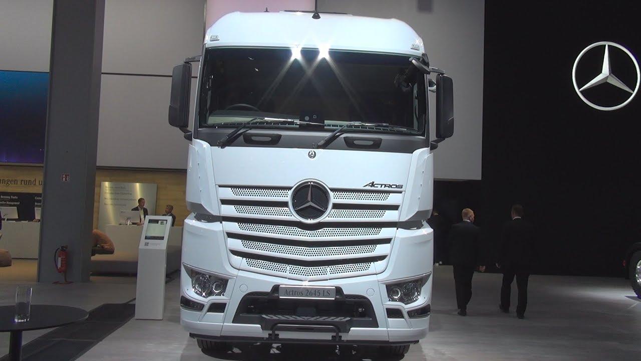 mercedes benz actros 2645 ls 6x4 euro iii tractor truck. Black Bedroom Furniture Sets. Home Design Ideas