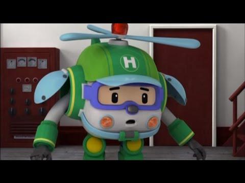 Робокар Поли - Трансформеры - Новый друг Вупер (мультфильм 51)