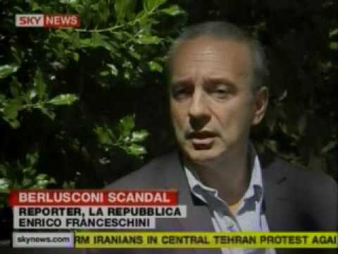 SKY UK - Berlusconi Scandal