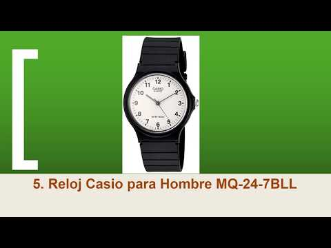 a0bb04323db4 Reloj Casio MQ24-1B3LL by Tutoriales Snake