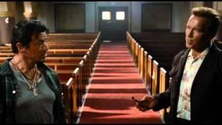 The Expendables - Sylvester Stallone, Arnold Schwarzenegger and Bruce Willis - best scene ever