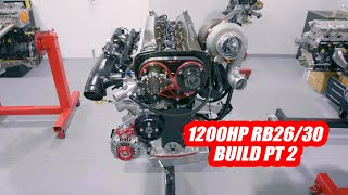 How To Build a 1200hp RB26 - Niтto 3.2 Stroker Engine - Part 2