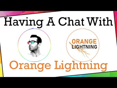 SearchingForPixels - Having A Chat With Orange Lightning