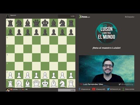 PREVIA Ajedrez Luisón contra el Mundo ARENA