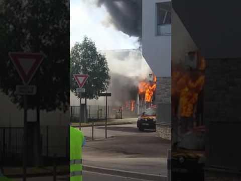 incendie blagnac