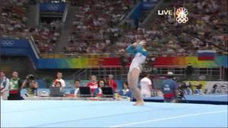 Ksenia Semenova - Floor Exercise - 2008 Olympics All Around