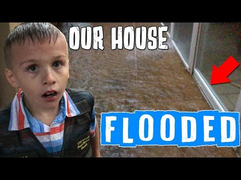 Our House Flooded in a Flash Flood!!