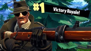 NO SCOPE KNOCK WITH HUNTING RIFLE ON NINTENDO SWITCH! Fortnite Battle Royale Gameplay Ep. 29