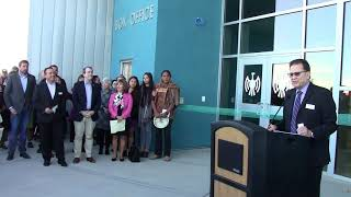 IAIA Dedication Ceremony Performing Arts & Fitness Center |  Special Thanks & Recognition