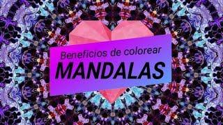 BENEFICIOS de colorear MANDALAS MP3