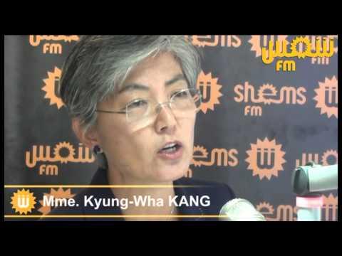 Kyung-Wha Kang Haut commissaire adjointe des Nations Unies aux droits de l'homme dans Studio Shems