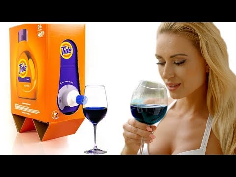 Katie Sommers - New Tide Packaging Looks A Lot Like Boxed Wine