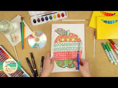 Design An Apple Johnny Appleseed Art Project Ideas Youtube