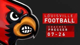 FB: Preseason Coaches News Conference