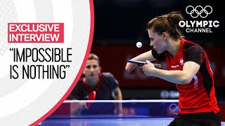 The Paralympic Table Tennis Player competing at the Olympics | Exclusive Interviews