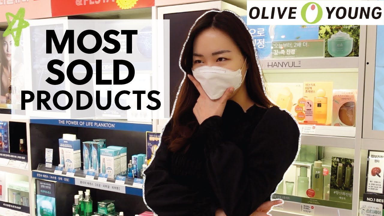 Products Koreans bought THE MOST in 2020 at OLIVE YOUNG! #OliveYoung