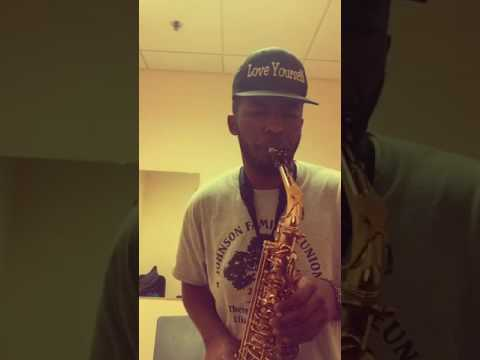 Kanye West - Low Lights Sax Cover