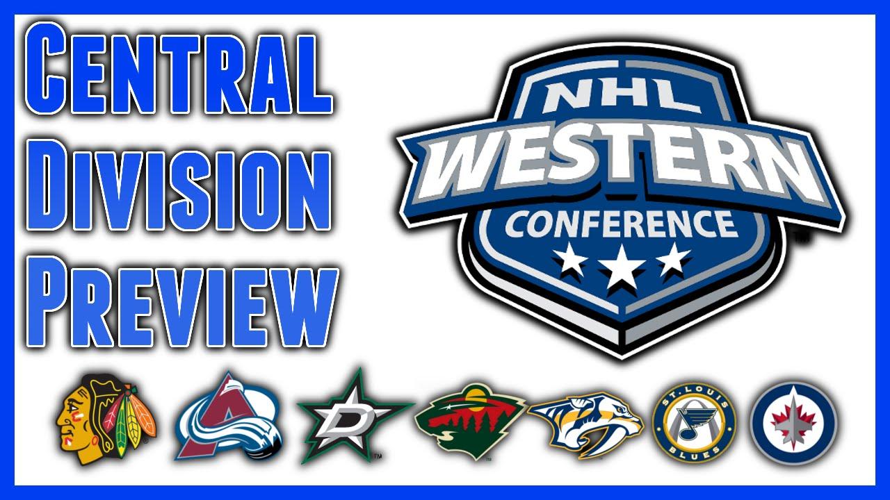 Image result for NHL Central Division Logos