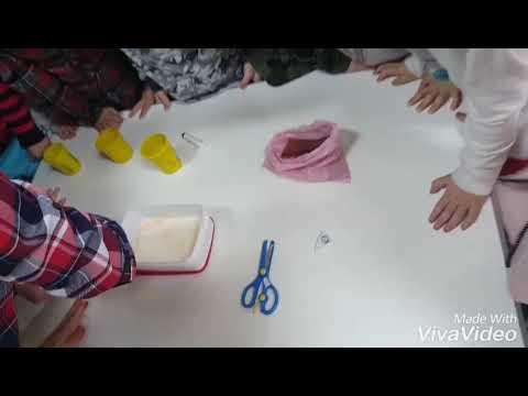 """""""Dans eden renkler"""" Okul Öncesinde Eğlenceli Deney"""