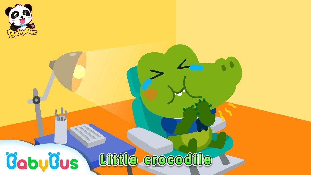 整天都在吃糖的小鱷魚,吃完記得刷牙哦+更多合集   兒歌   童謠   動畫片   卡通片   寶寶巴士   奇奇   妙妙 ...