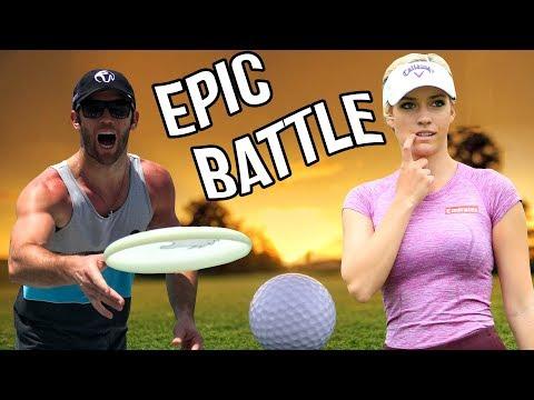 Epic Golf Battle vs. Paige Spiranac | Brodie Smith