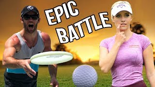 Epic Golf Battle vs. Paige Spiranac | Brodie Smith