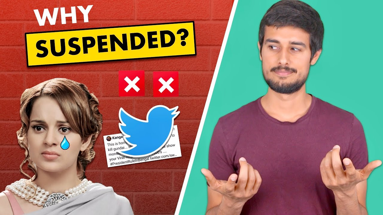 Kangana Ranaut Twitter Suspension | West Bengal | Dhruv Rathee