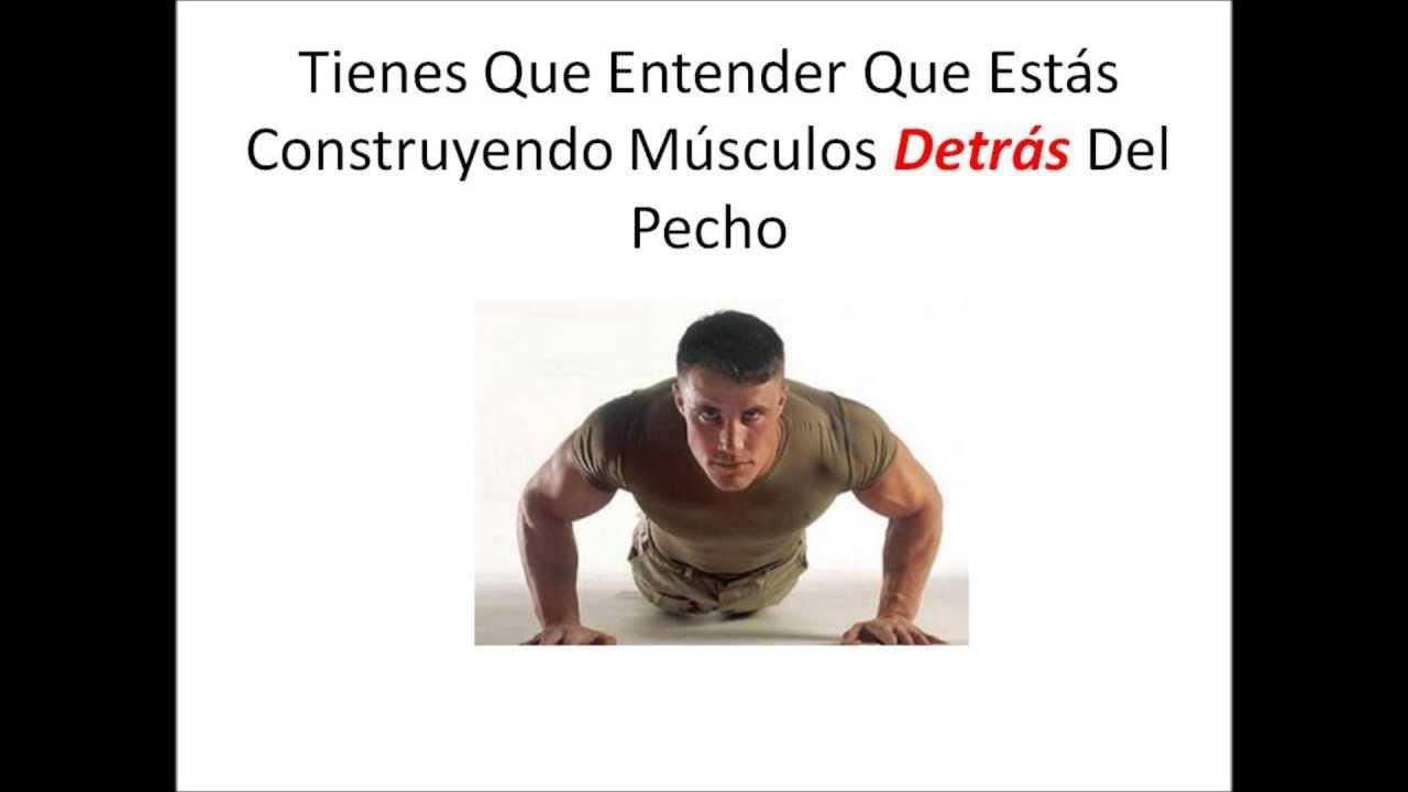 ejercicios para eliminar pecho masculino