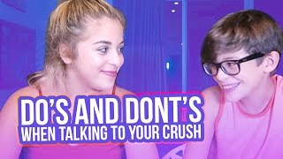 DO'S AND DON'TS WHEN TALKING TO YOUR CRUSH | Baby Ariel