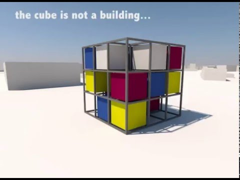 the cube asa architecture youtube. Black Bedroom Furniture Sets. Home Design Ideas