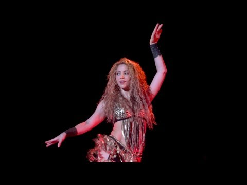 Shakira - Whenever Wherever & Belly Dancing (El Dorado World Tour ...