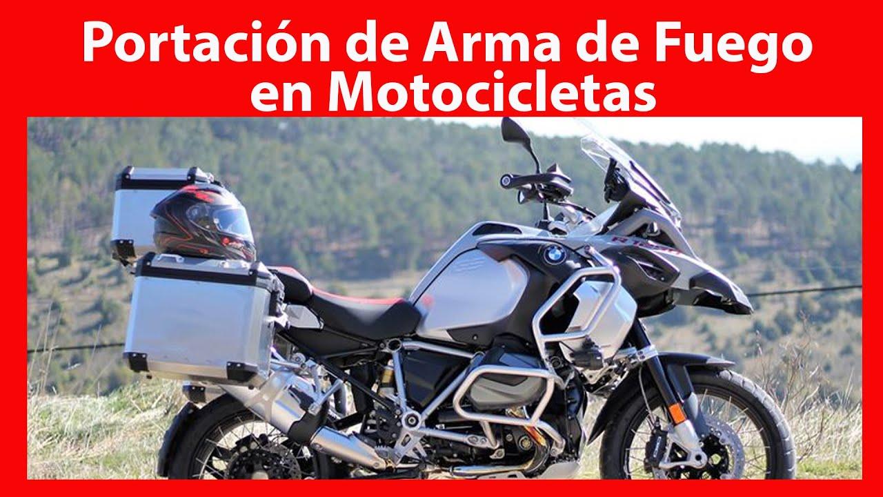 SEDENA México - Portación de Arma de Fuego - Transportación en Motocicleta