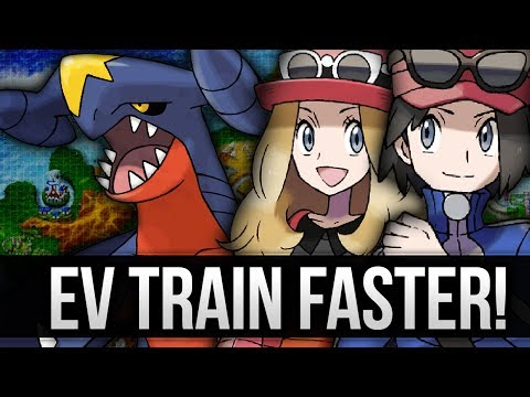 Pokemon X And Y - EV Train Faster Than Super Training (EV Training Guide)
