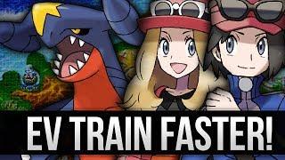 pokemon x and y ev train faster than super training ev training guide
