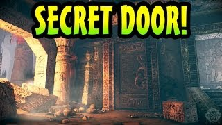 COD Ghosts: Pharaoh How To Open The Secret Door Tutorial! Care Package Room (Ghost Invasion DLC 3)