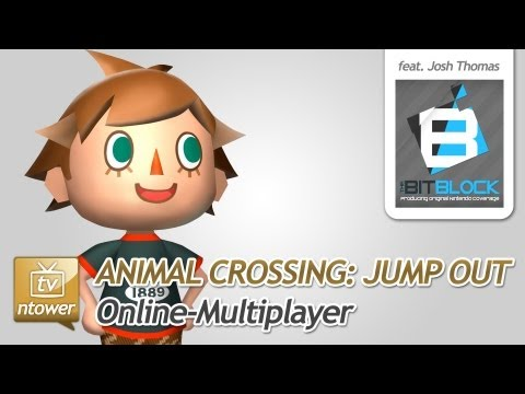 Animal Crossing: Jump Out (3DS) - Online-Multiplayer with Niels & Josh (TheBitBlock)