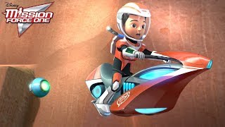 Hoverbiking | Mission Force One: Connect and Protect | Disney Junior