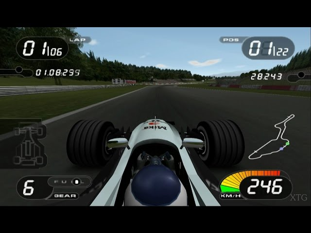 Formula One 2001 PS2 Gameplay HD (PCSX2)