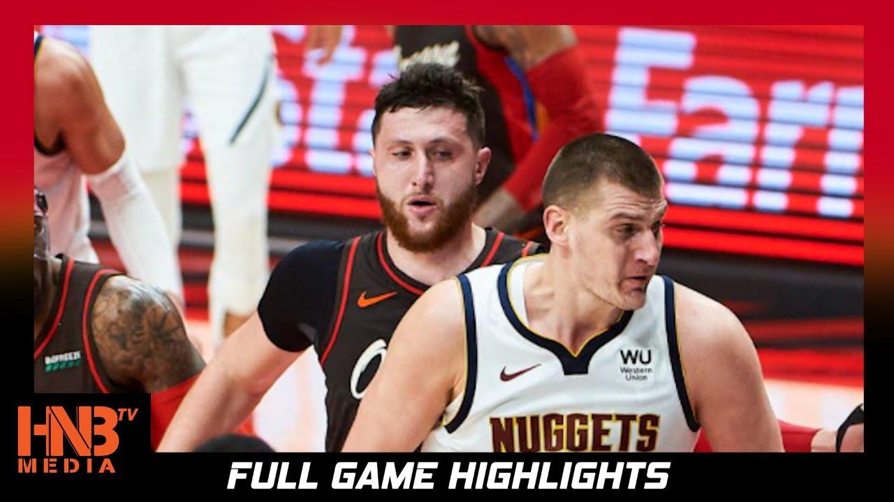 Denver Nuggets vs Portland Trailblazers Game 6 6.3.21 | Full Highlights