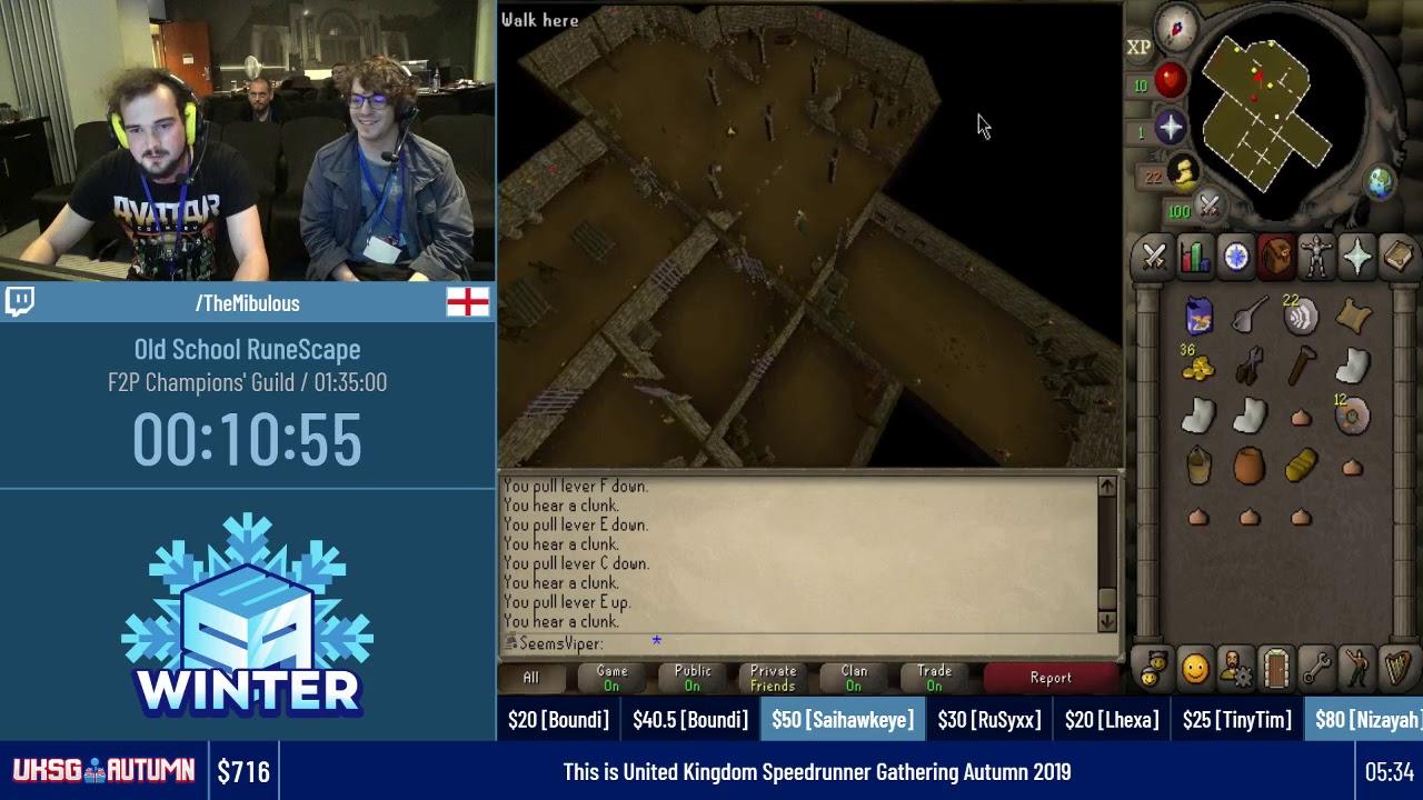 Download Old School RuneScape (F2P Champions Guild) #UKSGAutumn19