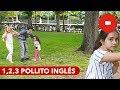 Jugando a 1, 2, 3 Pollito Inglés en el Parque del Retiro. EN DIRECTO