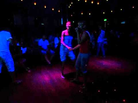 Ruskie Dievoszki :) Svetlana & Xenia !!! Karaoke Blue Beach Hurghada !!!