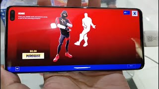 Fortnite - Free iKONIK Skin - Free Scenario Emote - Dualshock4 on Galaxy S10 Plus