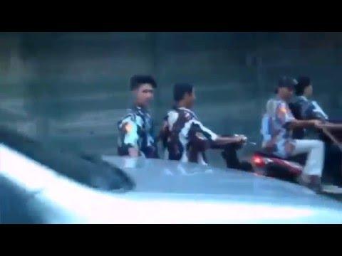 Video amatir Bentrok Ormas PP vs IPK  bacok warga SADISSS!!!