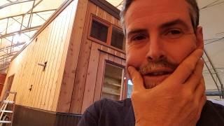 Cascadia Tiny House - Last 5% Construction Tour